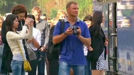 گردشگران روسیه در گرجستان