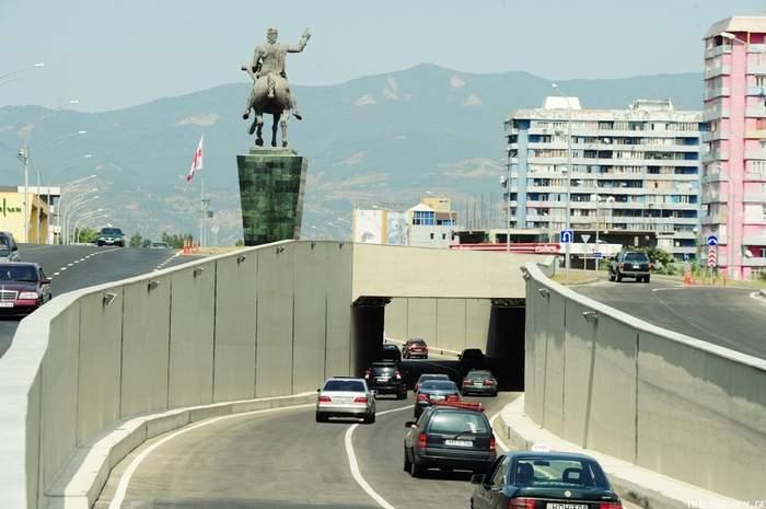 افتتاح تونل جدید در تفلیس