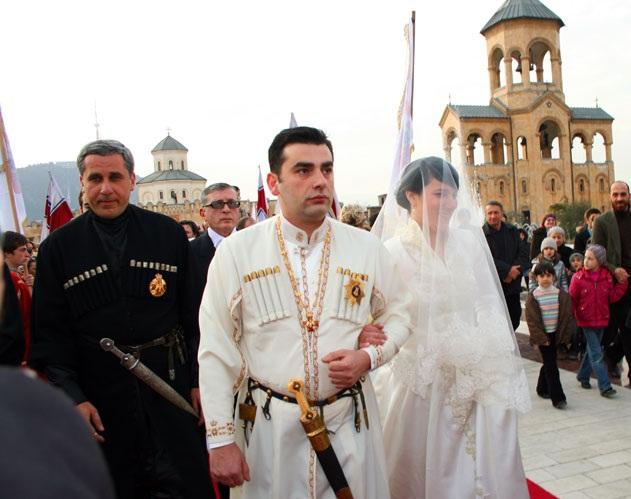 مراسم سنتی ازدواج در گرجستان