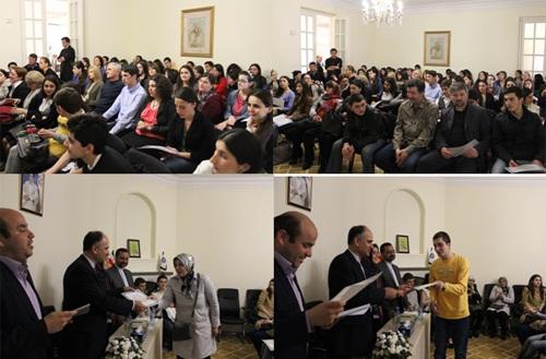 دوره جدید آموزش زبان پارسی - رایزنی فرهنگی ایران در تفلیس