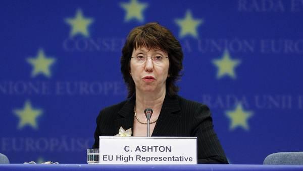 کاترین اشتون، نماینده عالی اتحادیه اروپا