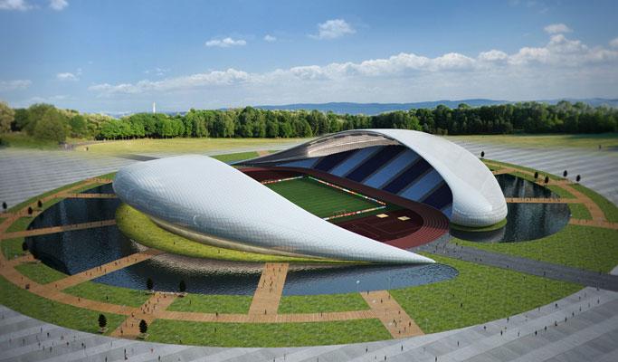 استادیوم جدید باتومی