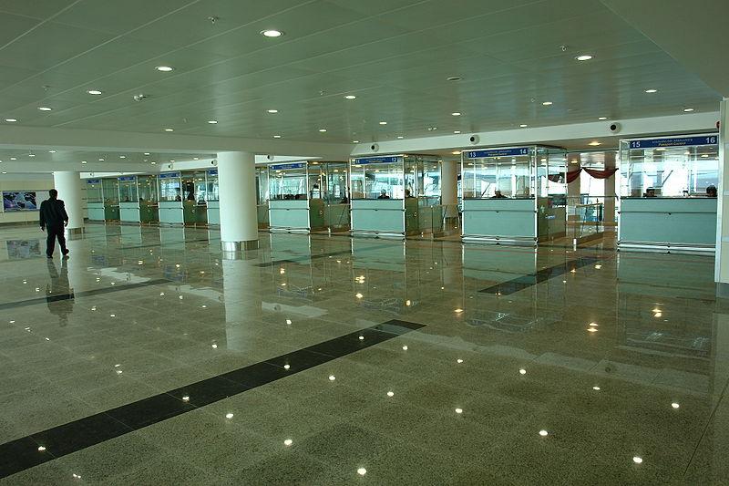 پاسپورت چک - فرودگاه تفلیس