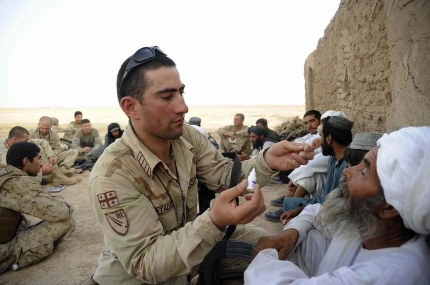 نیروهای گرجی در افغانستان