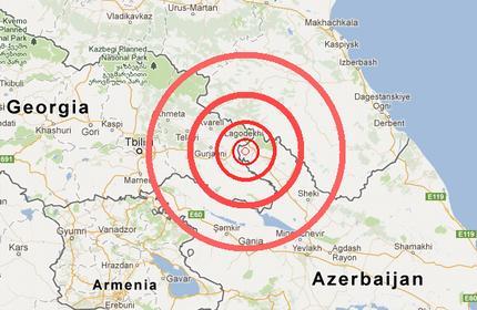 زلزله جنوب شرق گرجستان