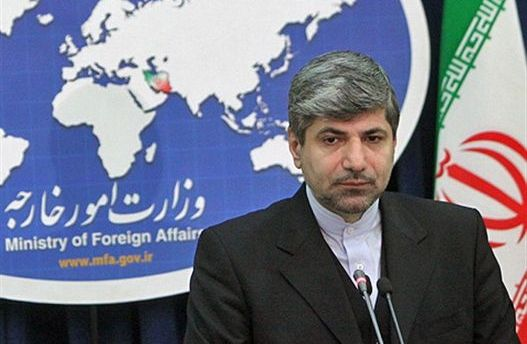رامین مهمان پرست، سخنگوی وزارت امور خارجه ایران