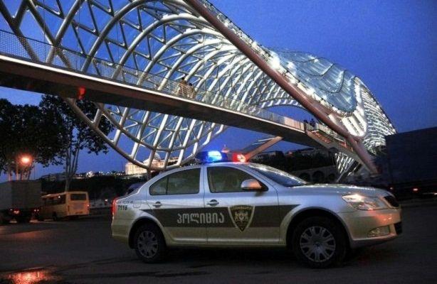 خودروی پلیس گرجستان