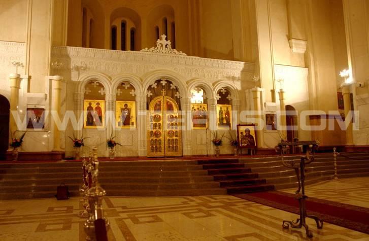 محراب کلیسای سامبا