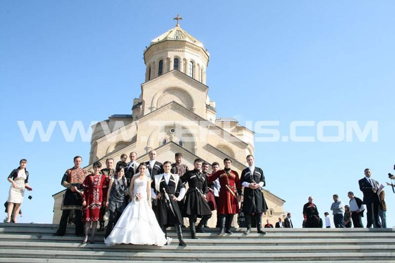 مراسم ازدواج در کلیسای سامبا