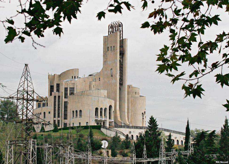 اقامتگاه پاتارکاتسیشویلی تاجر گرجی که در سال 2008 درگذشت