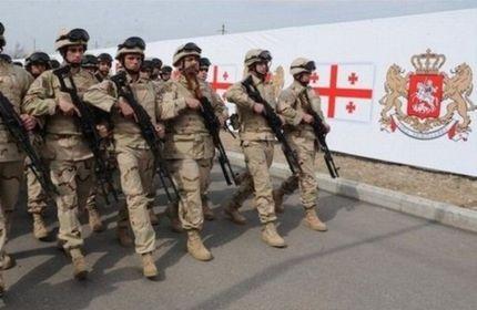 سربازان ارتش گرجستان