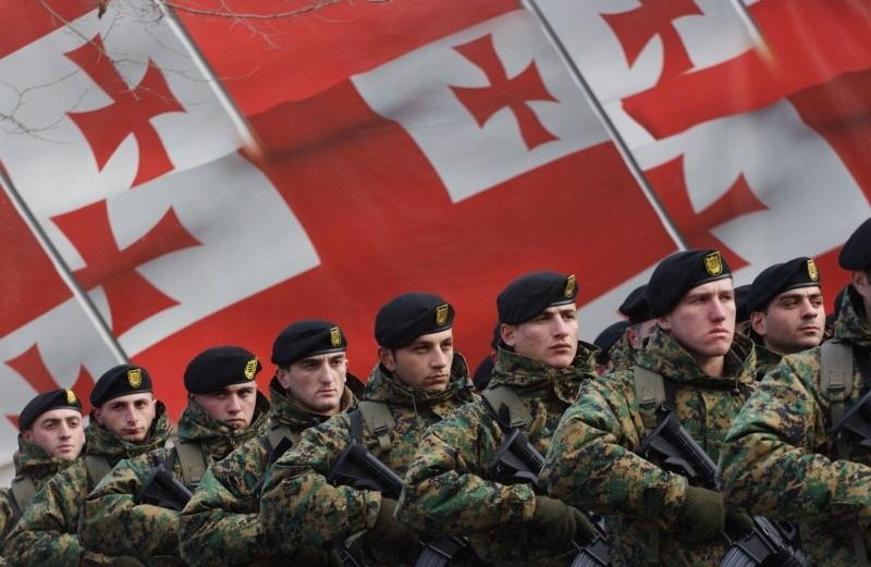 نیروهای ارتش گرجستان