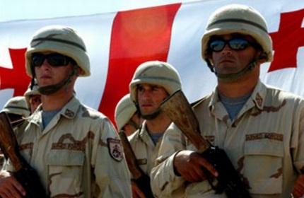 سربازان گرجی