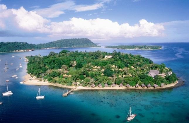 جزیره ایریریکی در جمهوری وانوآتو