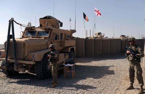 پایگاه نظامیان گرجستان در افغانستان