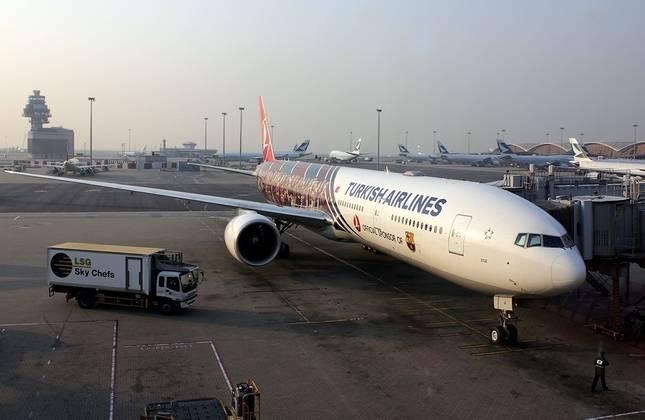 بوئینگ 777 هواپیمایی ترکیه