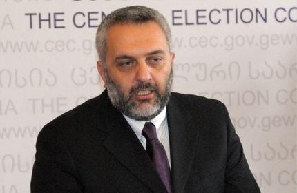 زوراب خاراتیشویلی، رئیس مستعفی کمیسیون انتخابات گرجستان