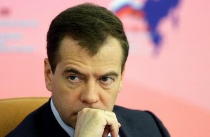 دیمیتری مدودف، نخست وزیر روسیه