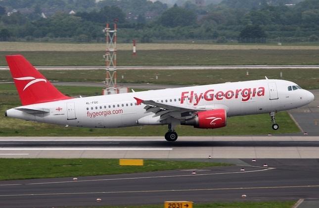 توقیف یک فروند هواپیمای شرکت 'فلای جرجیا' در بروکسل