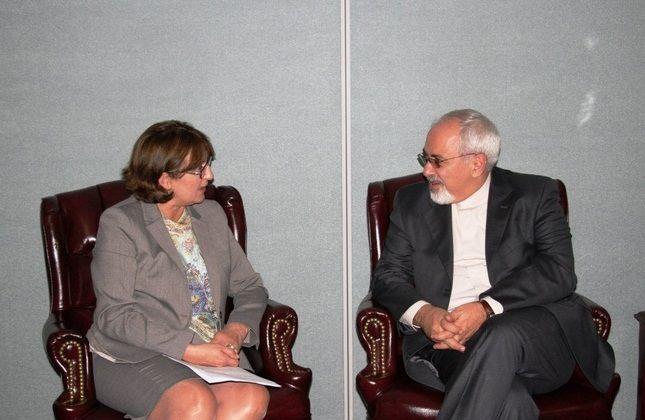 دیدار وزرای امور خارجه گرجستان و ایران