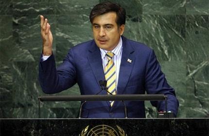 میخائیل ساکاشویلی، رئیس جمهور گرجستان