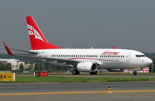 بوئینگ 737 هواپیمایی ملی گرجستان، ایرزینا