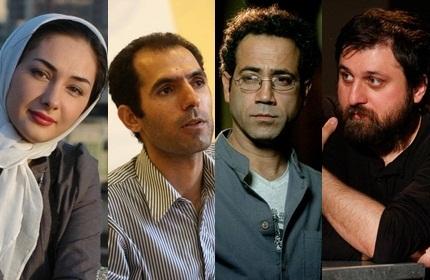 آروند دشت آرای، حمید پورآذری، علی اصفر دشتی و هانیه توسلی