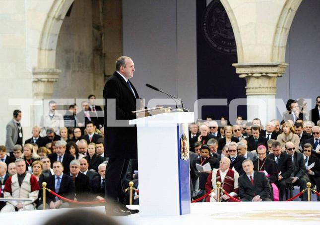مراسم تحلیف گیورگی مارگولاشویلی، رئیس جمهور گرجستان