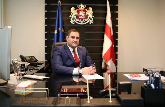الکساندر چیکایدزه، نامزد پست وزارت کشور گرجستان