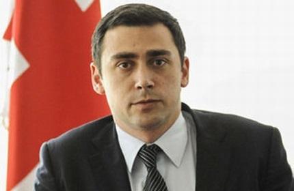 لاشا آباشیدزه، مسئول دفتر ریاست جمهوری گرجستان