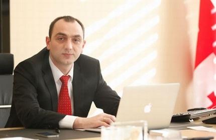 گیورگی کاداگیدزه، رئیس بانک مرکزی گرجستان