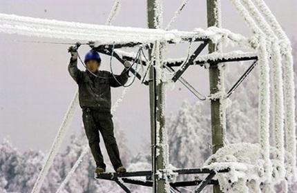 قطع گسترده برق در مناطق غربی گرجستان