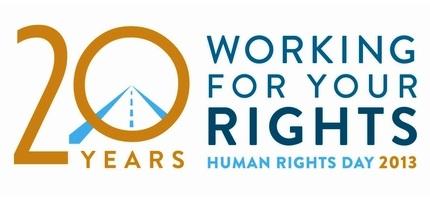 گرامیداشت روز جهانی حقوق بشر در گرجستان