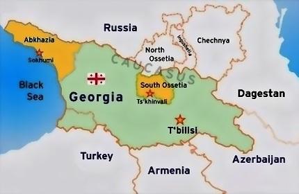 هشدار گرجستان در رابطه با ورود غیر قانونی اتباع خارجی به 'آبخازیا' و 'اوستیای جنوبی'