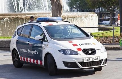 خودرو پلیس اسپانیا
