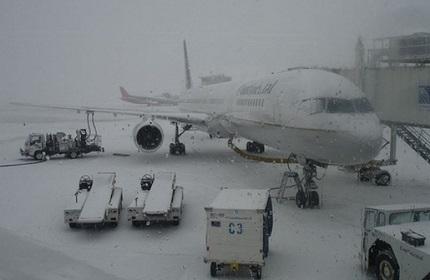 شرایط نامساعد جوی در فرودگاه بین المللی تفلیس