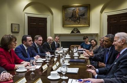 تاکید آمریکا بر حمایت همه جانبه از گرجستان