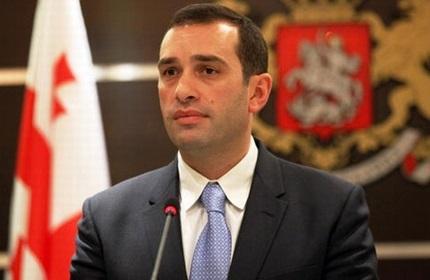ایراکلی آلاسانیا، وزیر دفاع گرجستان