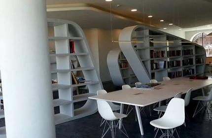 افتتاح کتابخانه 'میخائیل ساکاشویلی' در تفلیس