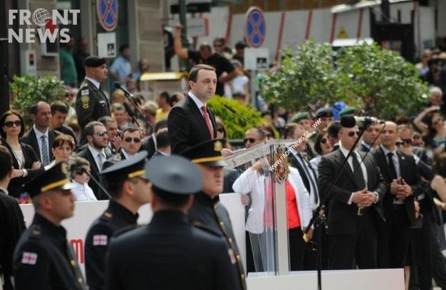 برگزاری مراسم 'روز استقلال' در گرجستان