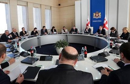 جلسه دولت گرجستان