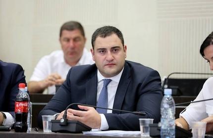الکساندر چیکایدزه، وزیر کشور گرجستان