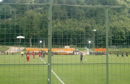 دیدار نمایندگان فوتبال گرجستان و ایران