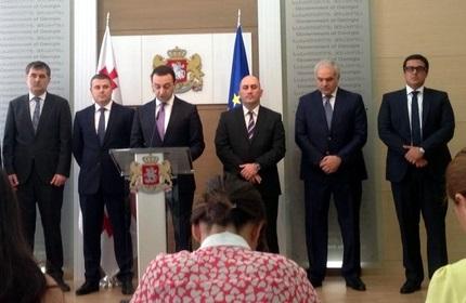 معرفی اعضای جدید کابینه دولت گرجستان توسط نخست وزیر