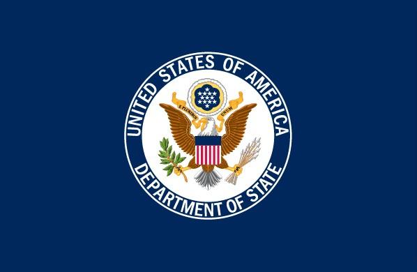 پرچم وزارت امور خارجه ایالات متحده آمریکا