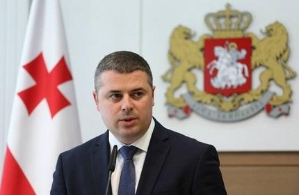 اُتار دانِلیا، وزیر کشاورزی گرجستان