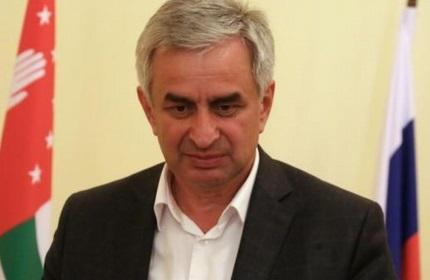رائول خاجیمبا، رئیس جمهور جدید منطقه جدایی طلب آبخازیا در گرجستان