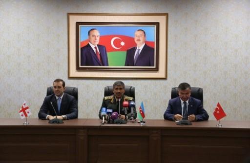 توافق گرجستان، ترکیه و جمهوری آذربایجان برای برگزاری رزمایش نظامی