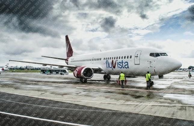 بوئینگ 737 هواپیمایی فلای ویستا