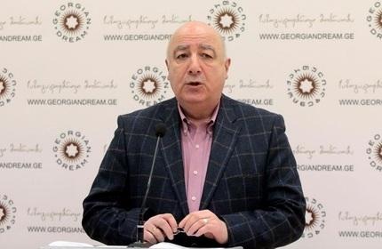 تدو جاپاریدزه، رئیس کمیسیون روابط خارجی پارلمان گرجستان